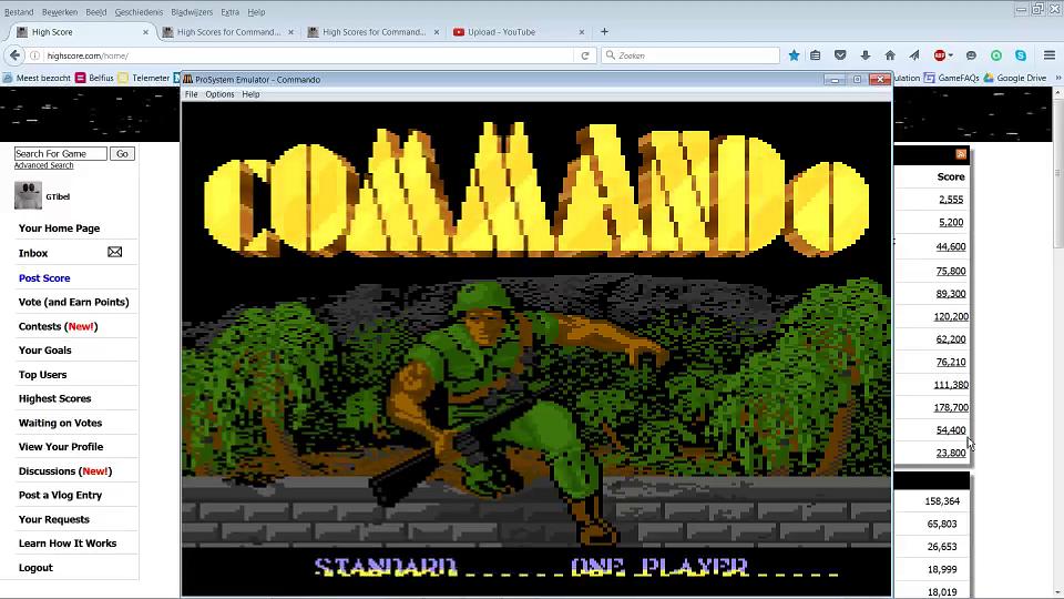 Commando: Standard 329,100 points