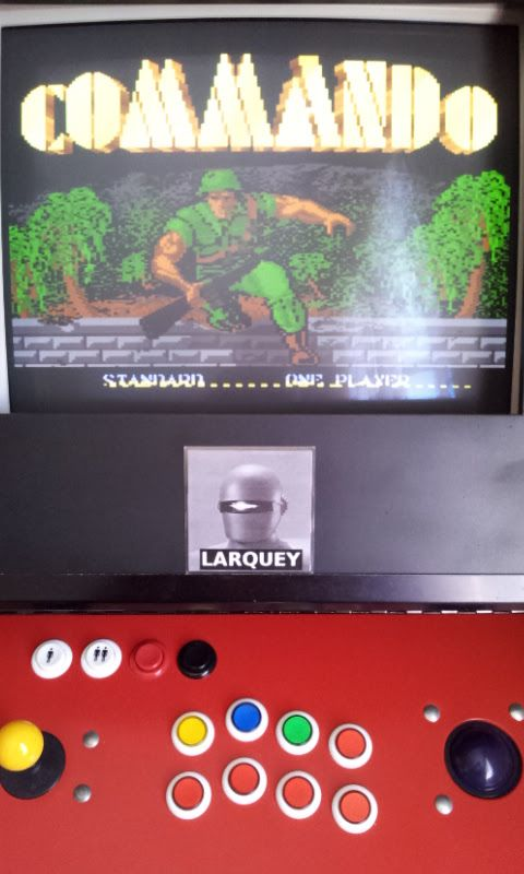 Larquey: Commando: Standard (Atari 7800 Emulated) 54,000 points on 2017-06-18 04:46:11