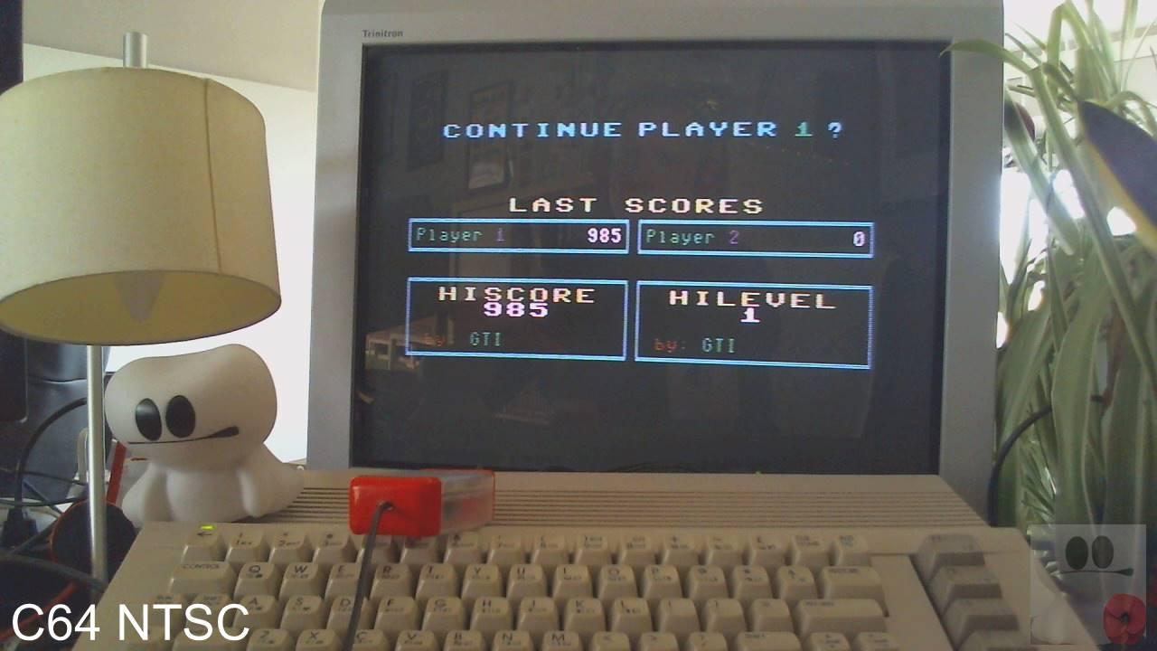 GTibel: Confuzion (Commodore 64) 985 points on 2020-03-26 10:01:44
