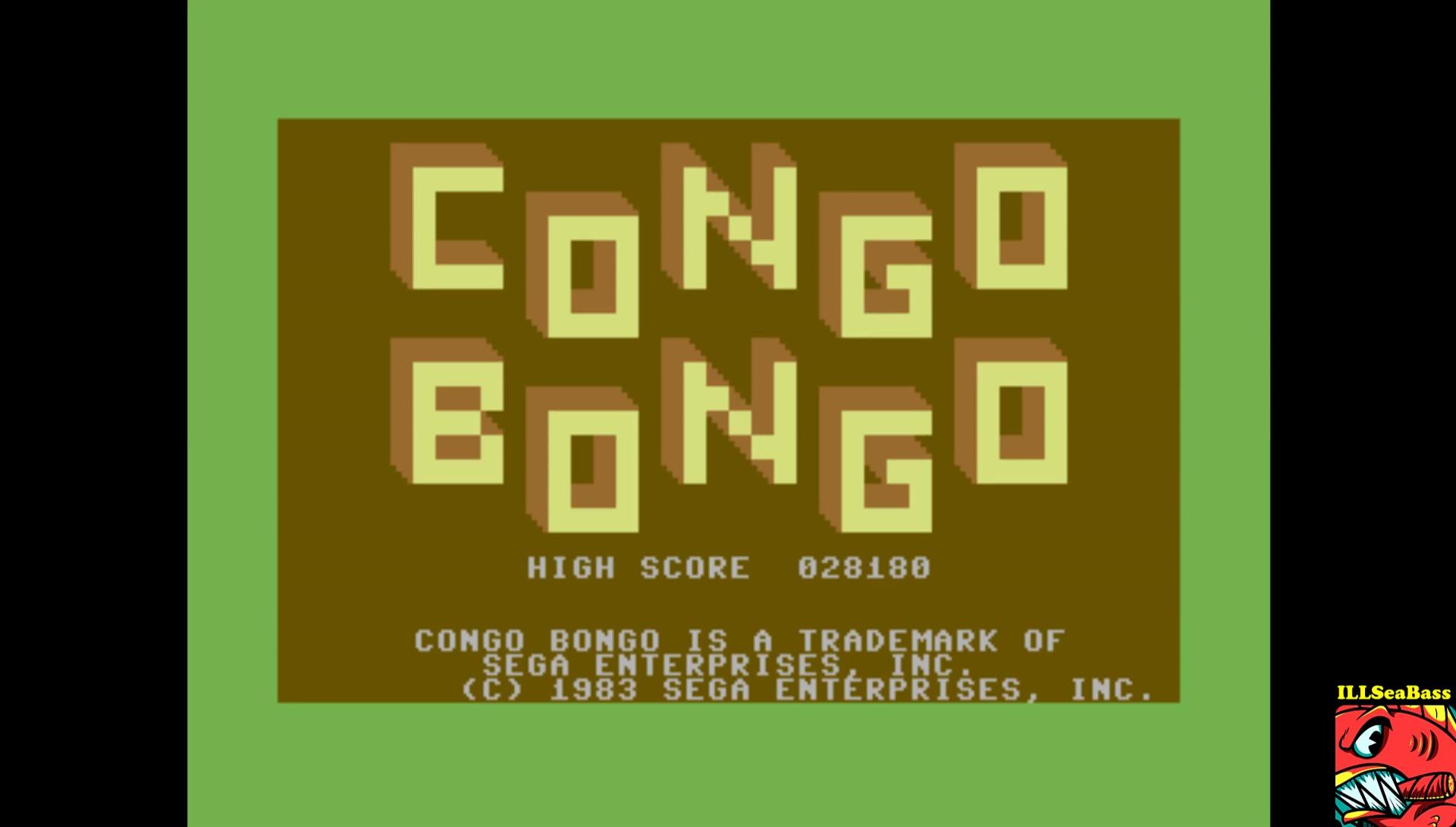 Congo Bongo [1983 Version] 28,180 points