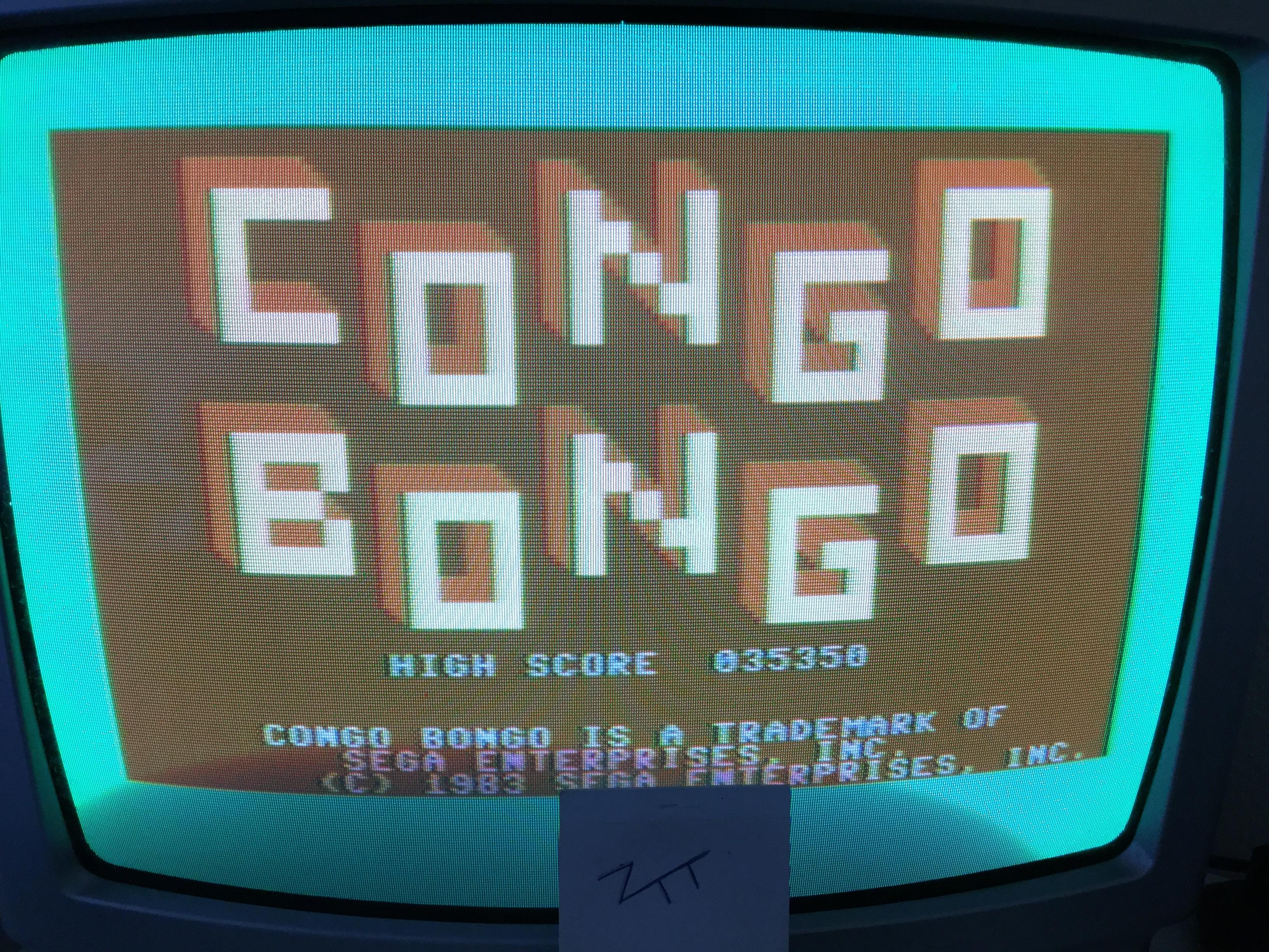 Frankie: Congo Bongo [1983 Version] (Commodore 64) 35,350 points on 2017-04-23 04:14:19