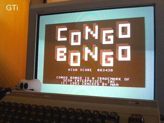 GTibel: Congo Bongo [1983 Version] (Commodore 64) 83,430 points on 2017-05-04 12:14:43