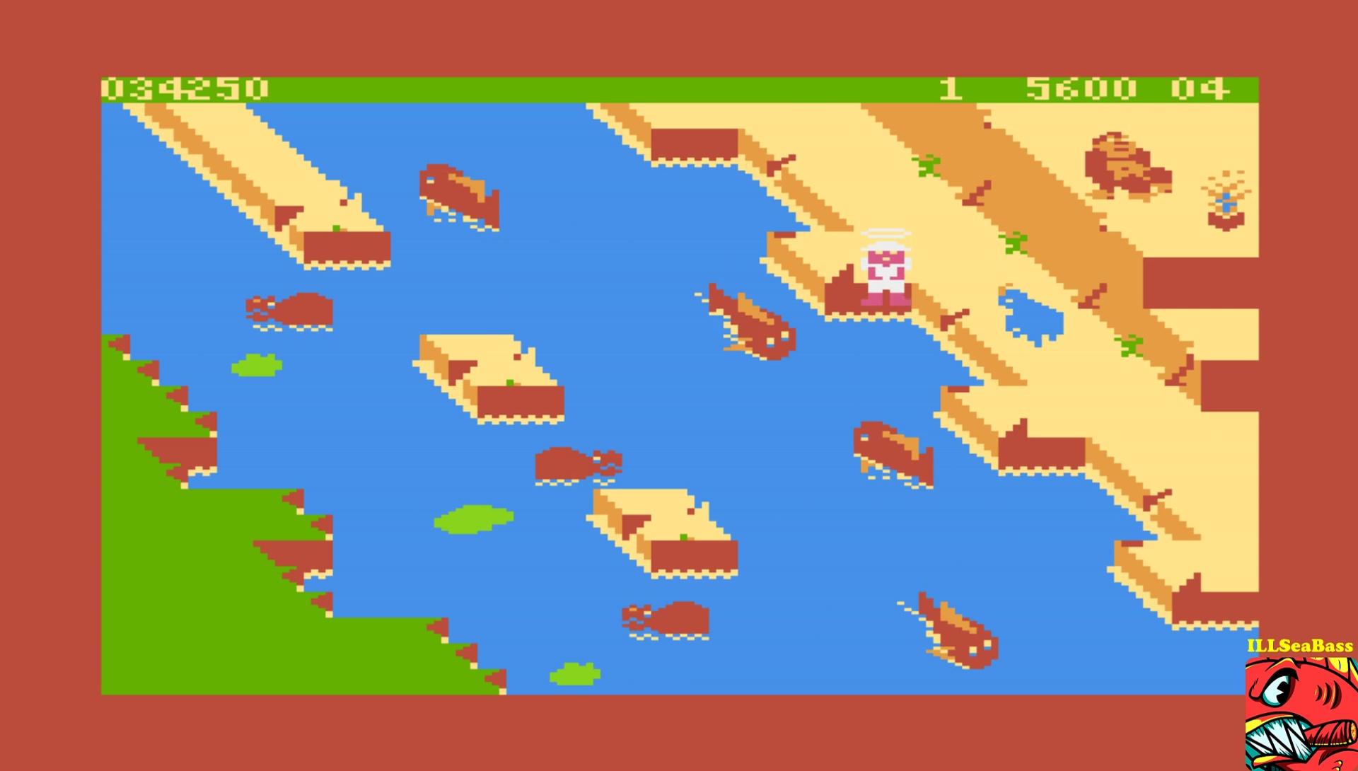 ILLSeaBass: Congo Bongo (Atari 400/800/XL/XE Emulated) 34,250 points on 2017-03-05 11:20:38