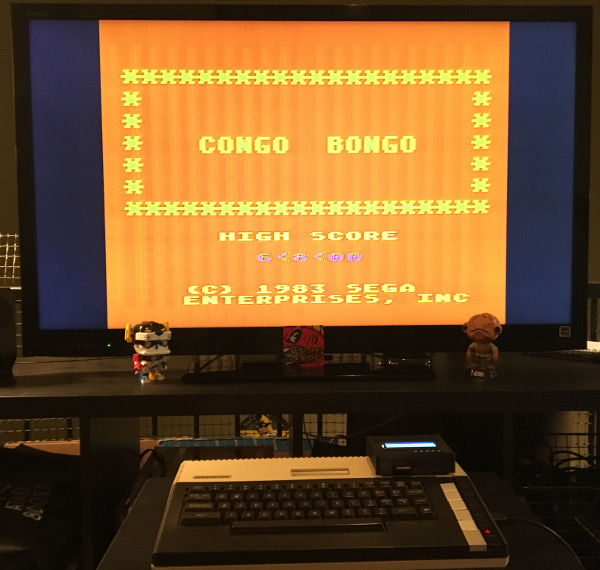 ILLSeaBass: Congo Bongo (Atari 400/800/XL/XE) 22,300 points on 2018-01-23 20:13:48