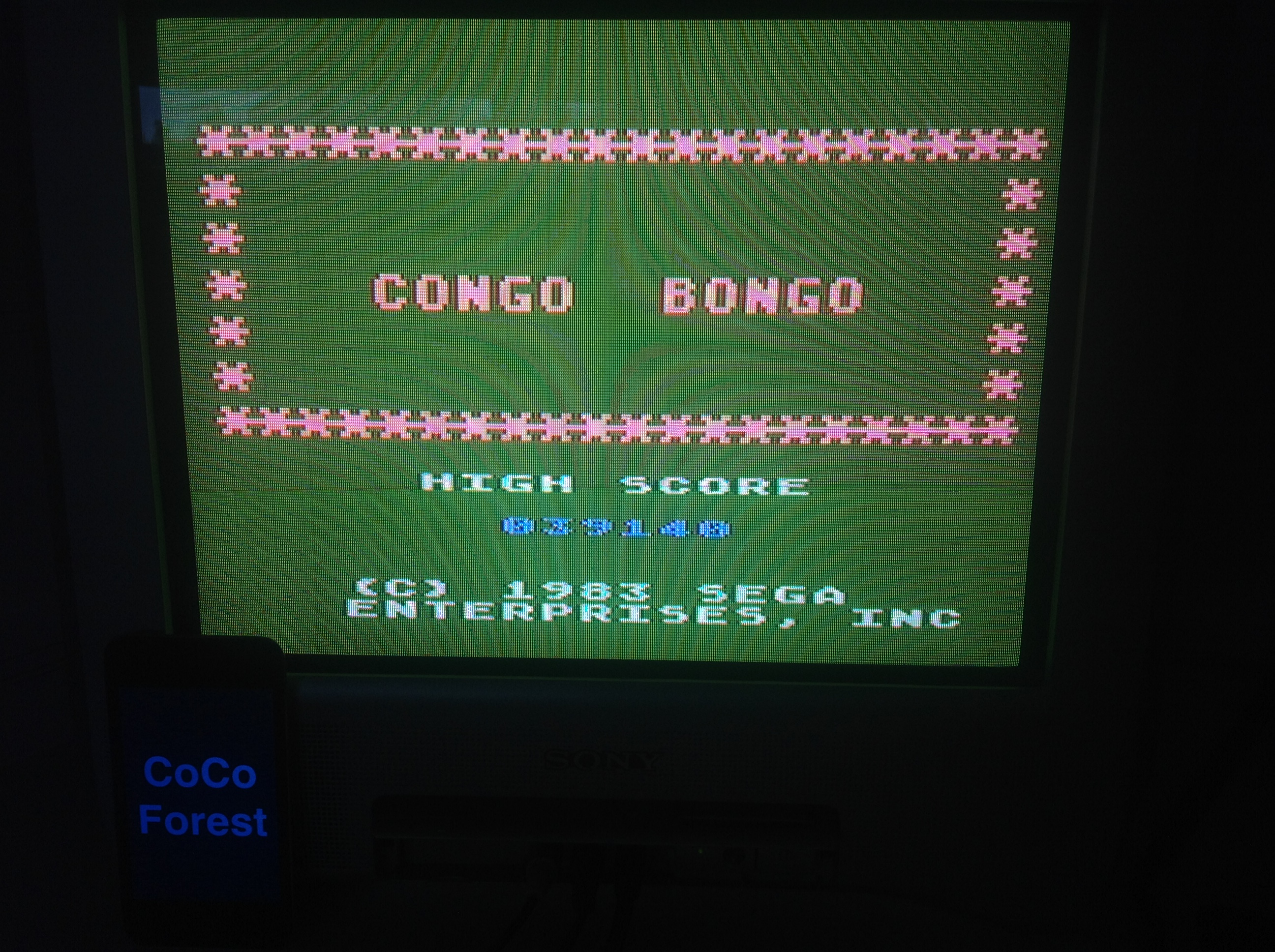 CoCoForest: Congo Bongo (Atari 5200) 39,140 points on 2015-11-12 08:48:30