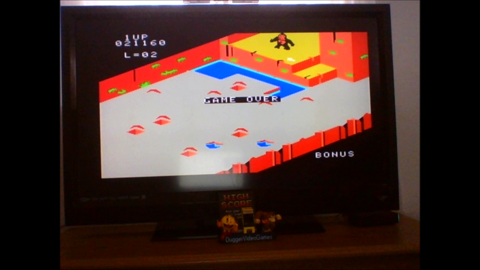 DuggerVideoGames: Congo Bongo (Colecovision Emulated) 21,160 points on 2017-02-16 13:30:40