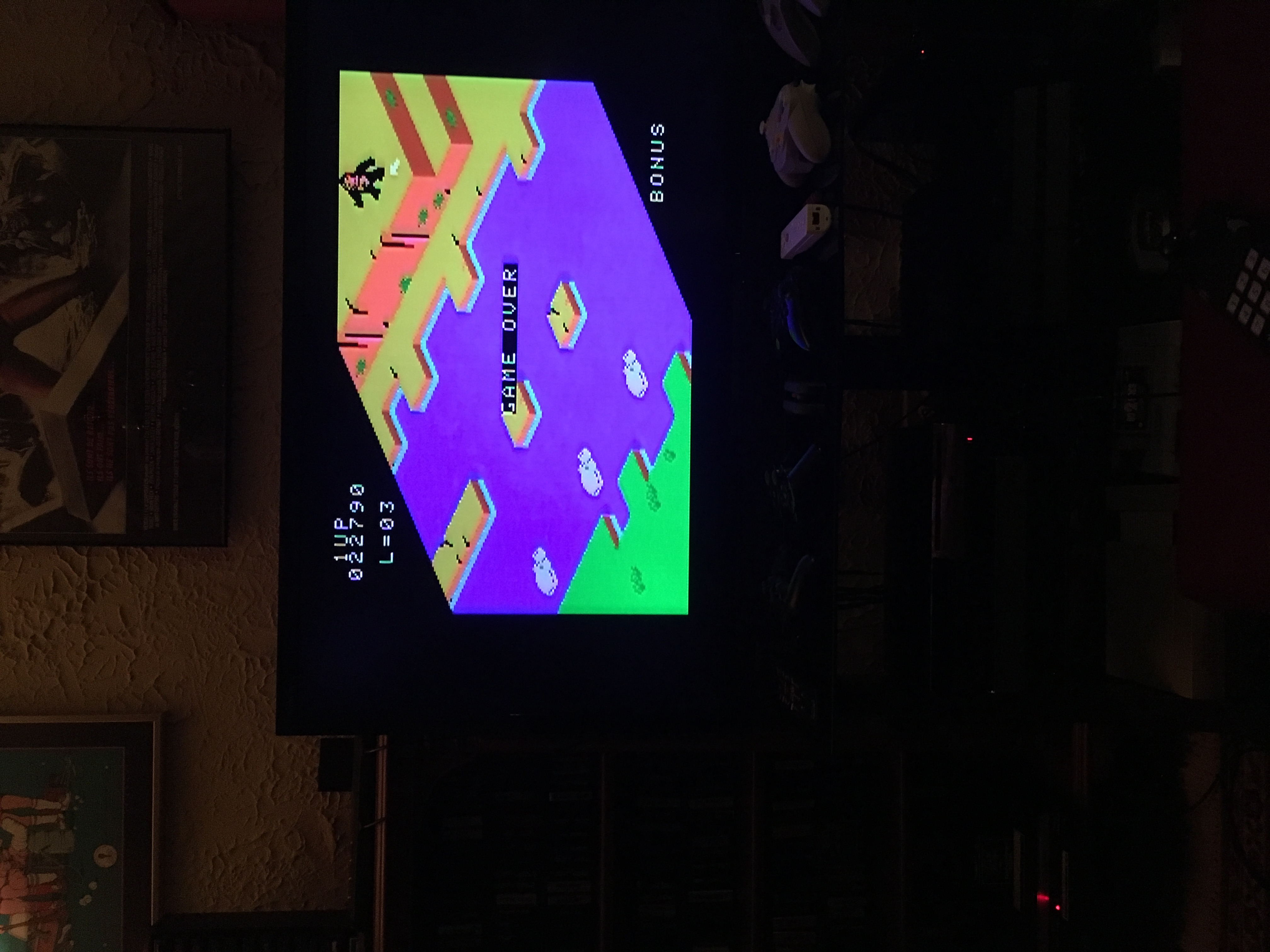 rodge2001: Congo Bongo (Colecovision) 22,790 points on 2018-06-14 21:40:25
