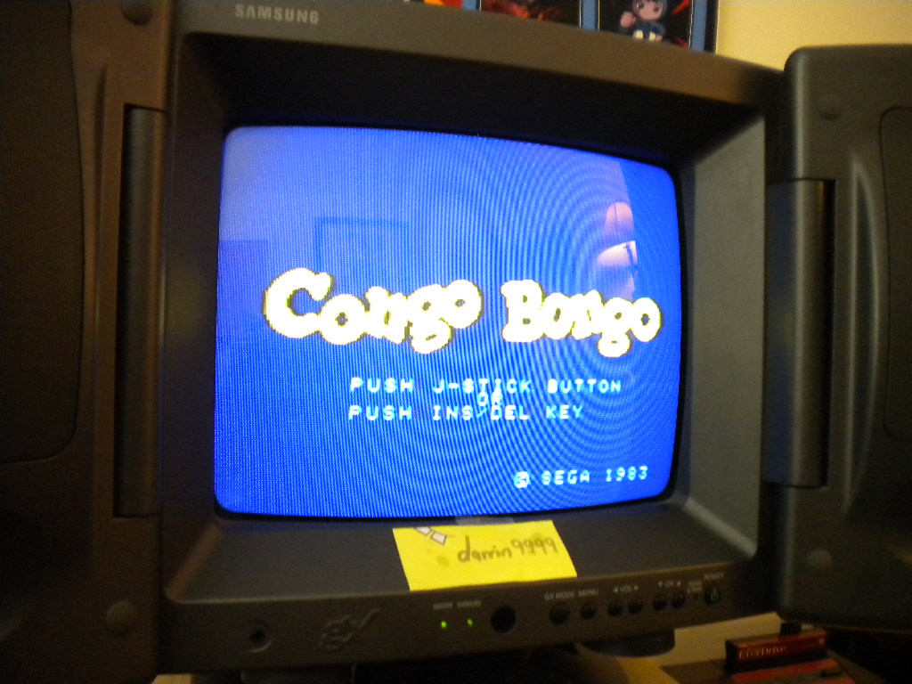 Congo Bongo 5,590 points