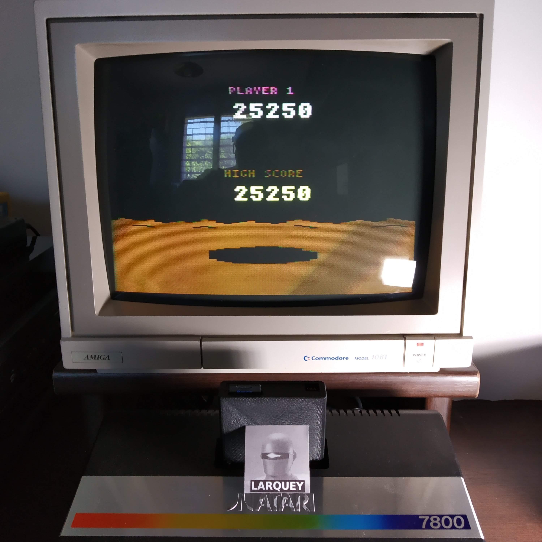Larquey: Conquest of Mars (Atari 2600 Novice/B) 25,250 points on 2020-07-19 13:32:14