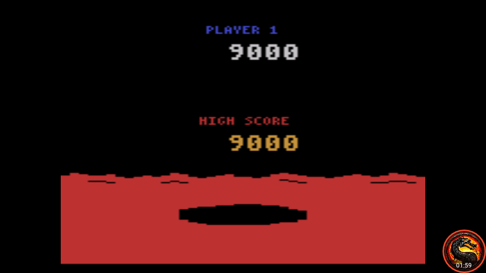 omargeddon: Conquest of Mars (Atari 2600 Emulated Expert/A Mode) 9,000 points on 2020-07-19 00:46:48