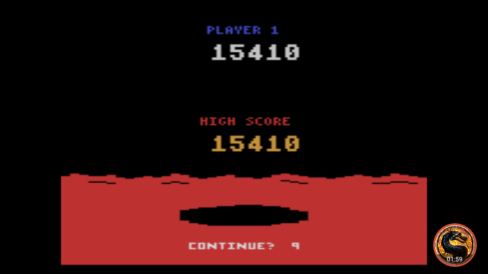 omargeddon: Conquest of Mars (Atari 2600 Emulated Novice/B Mode) 15,410 points on 2019-05-05 17:48:34