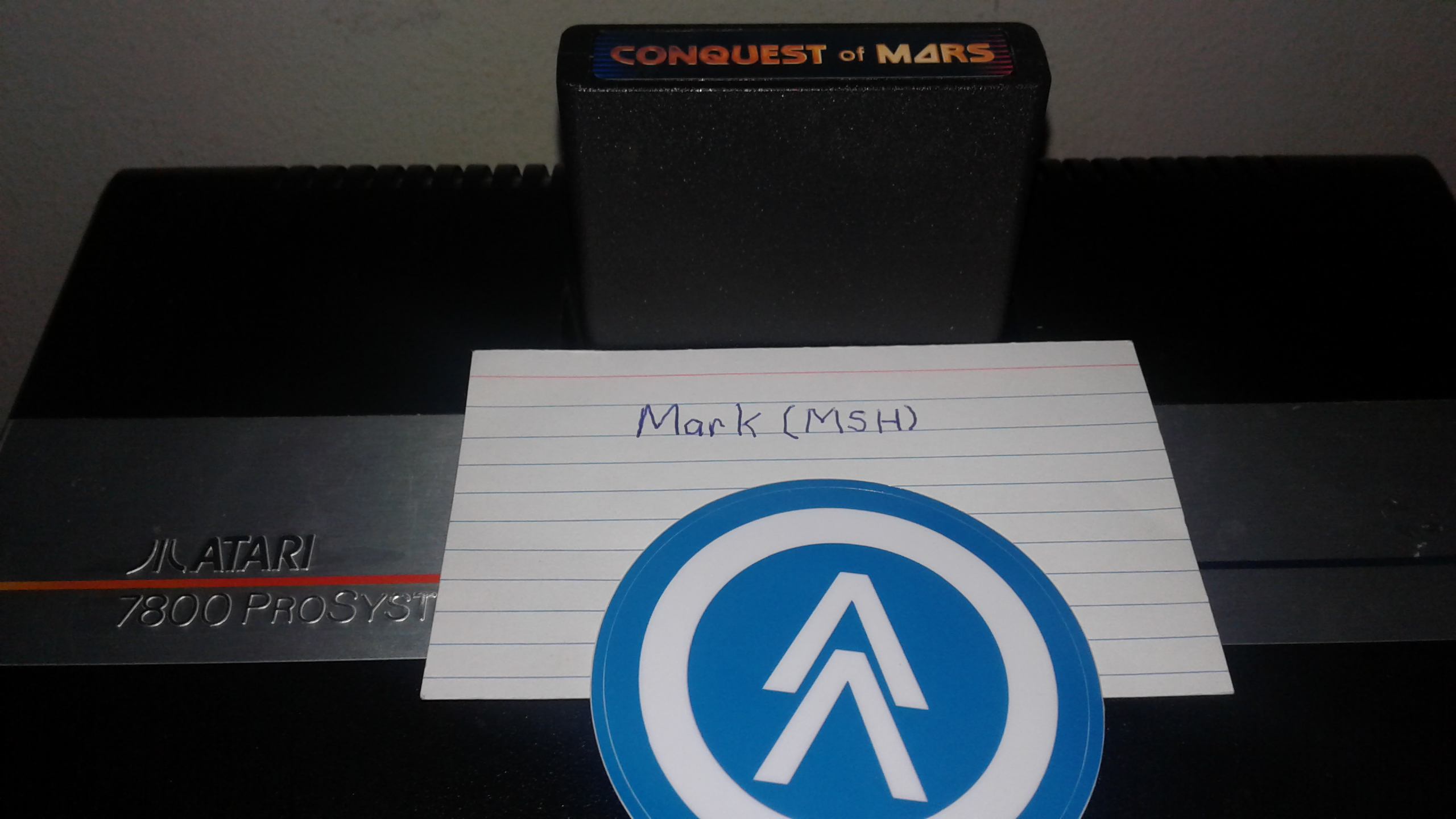 Mark: Conquest of Mars: Commander (Atari 2600 Expert/A) 18,280 points on 2019-03-06 02:43:26