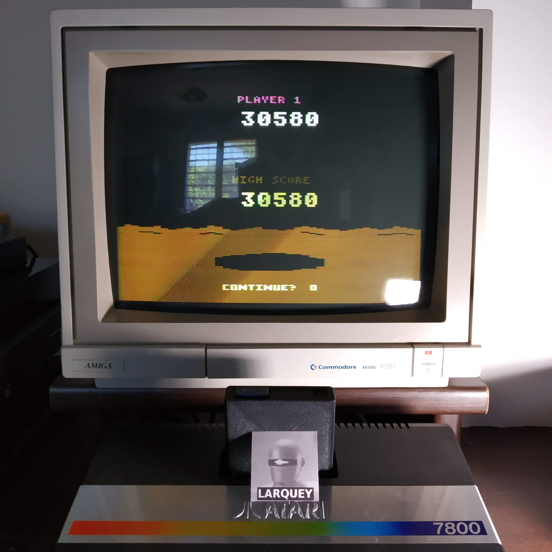 Larquey: Conquest of Mars: Commander (Atari 2600 Novice/B) 30,580 points on 2020-07-19 13:46:48