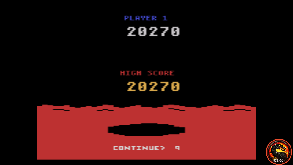 omargeddon: Conquest of Mars: Commander (Atari 2600 Emulated Expert/A Mode) 20,270 points on 2020-07-19 00:54:13
