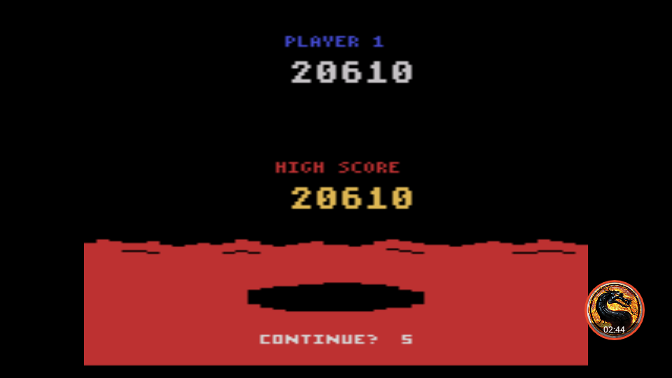 omargeddon: Conquest of Mars: Commander (Atari 2600 Emulated Novice/B Mode) 20,610 points on 2019-05-05 13:46:37