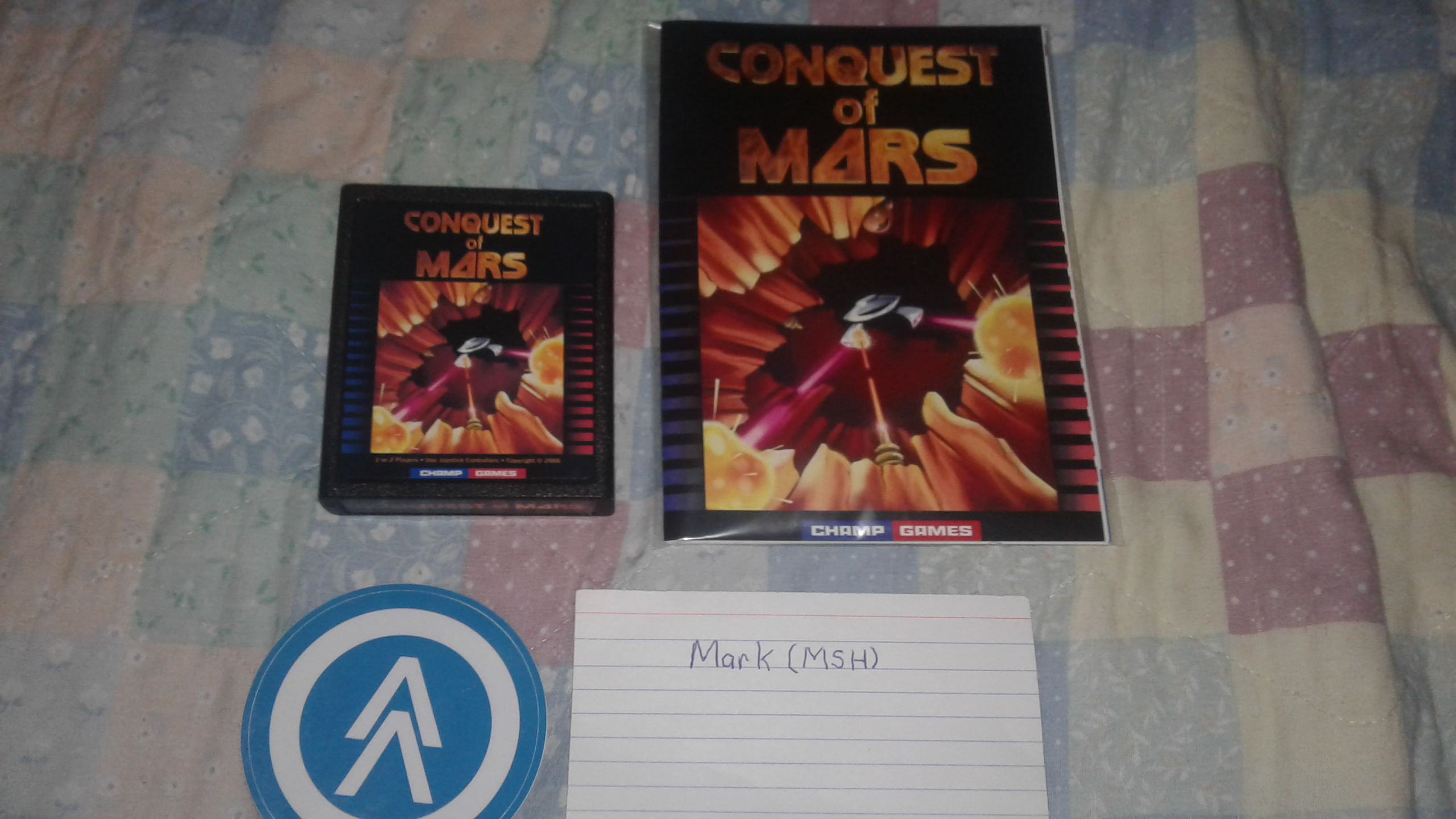 Mark: Conquest of Mars: Pilot (Atari 2600 Expert/A) 13,830 points on 2019-03-06 01:54:20