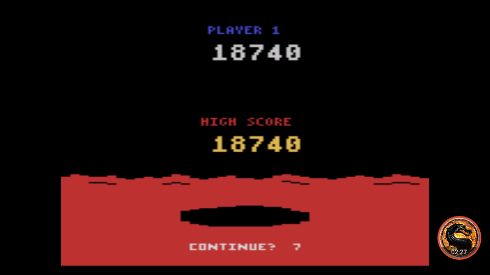 omargeddon: Conquest of Mars: Pilot (Atari 2600 Emulated Novice/B Mode) 18,740 points on 2019-05-05 13:48:12