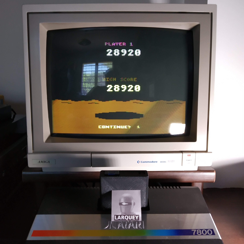 Larquey: Conquest of Mars: Warrior (Atari 2600 Novice/B) 28,920 points on 2020-07-19 15:23:27