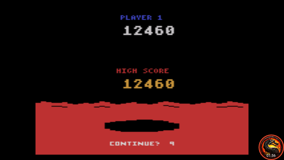 omargeddon: Conquest of Mars: Warrior (Atari 2600 Emulated Expert/A Mode) 12,460 points on 2020-07-19 00:51:53