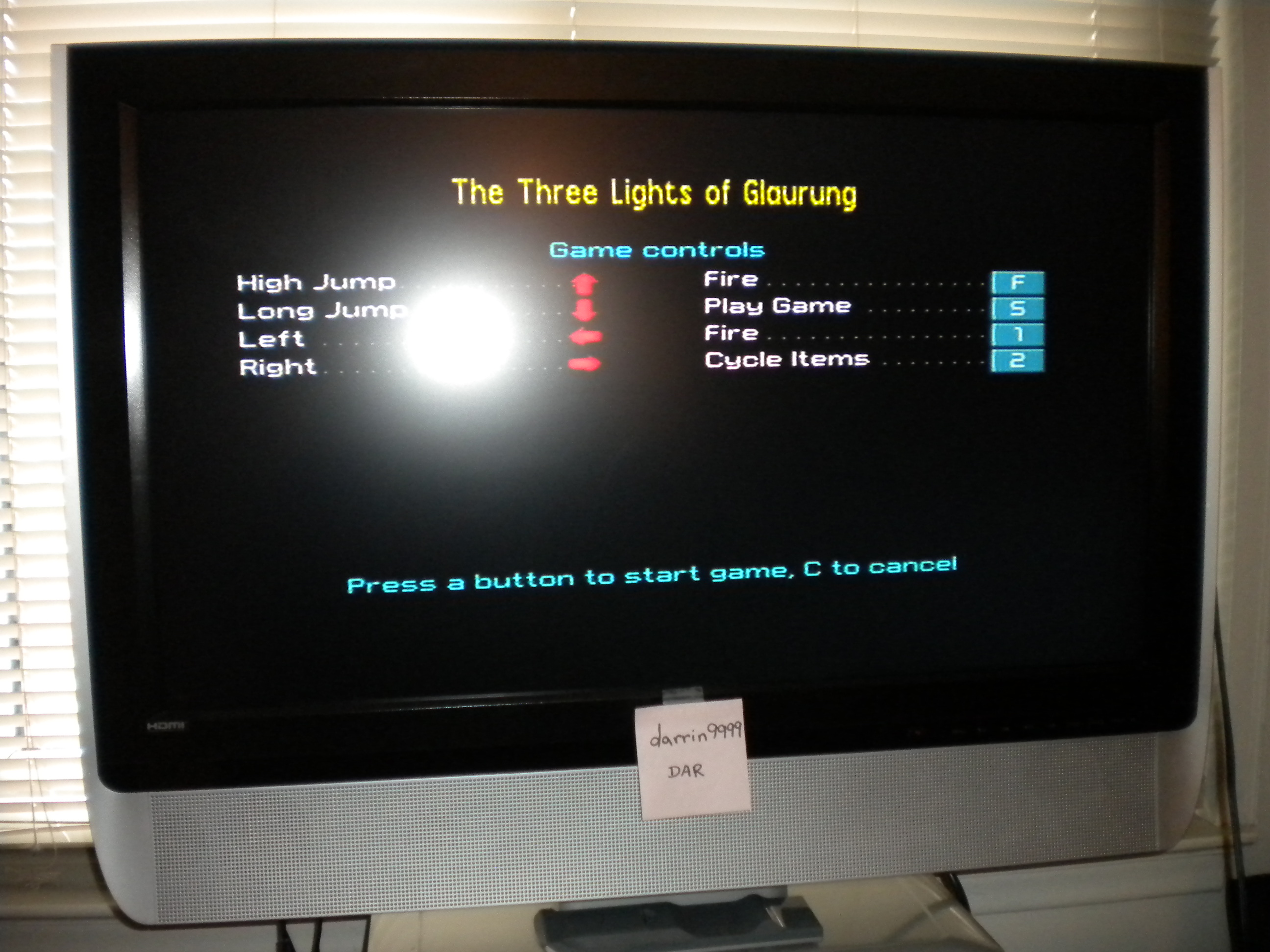 darrin9999: Conquestador / Las Tres Luces de Glaurung [100,000 Points Completion Bonus] (ZX Spectrum Emulated) 2,200 points on 2017-05-12 15:40:39