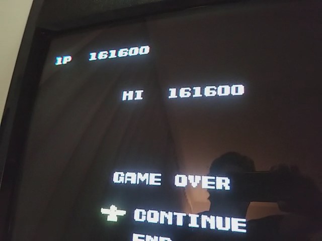 Contra [1 Life Only] 161,600 points
