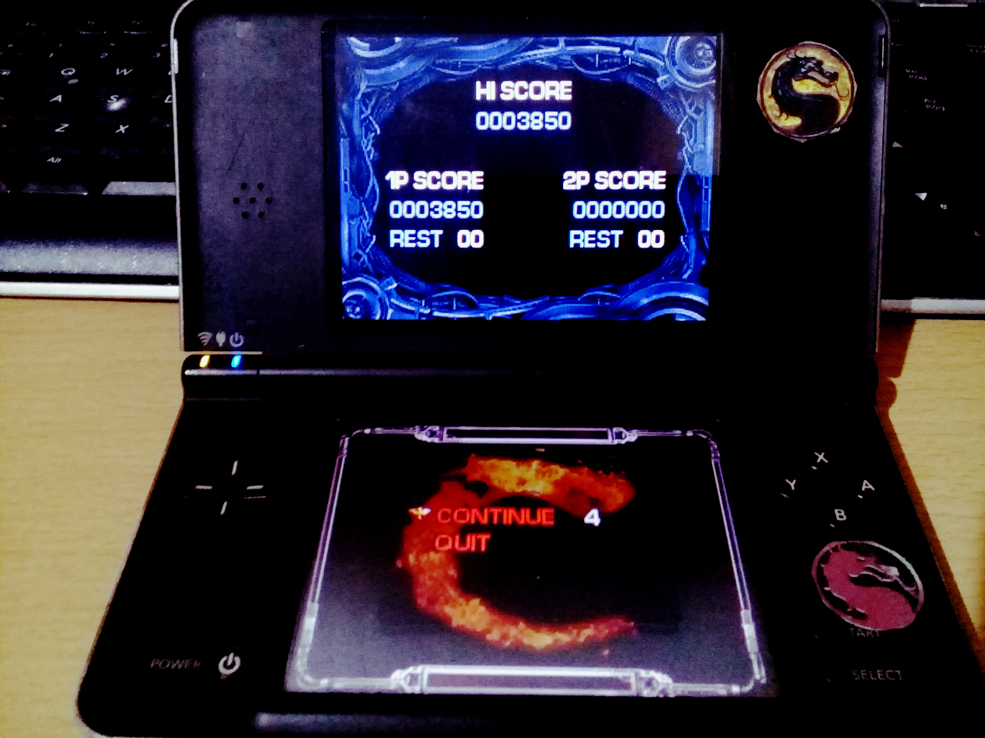 omargeddon: Contra 4: Contra (Nintendo DS) 3,850 points on 2020-09-14 13:17:12