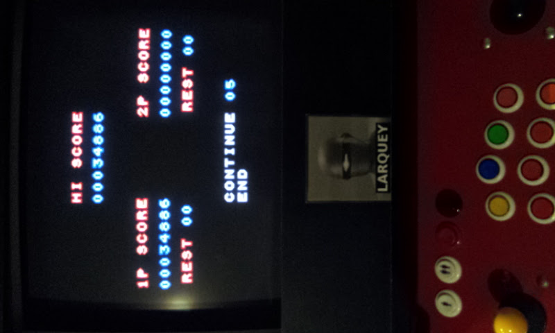 Contra Advance: The Alien Wars EX 34,886 points