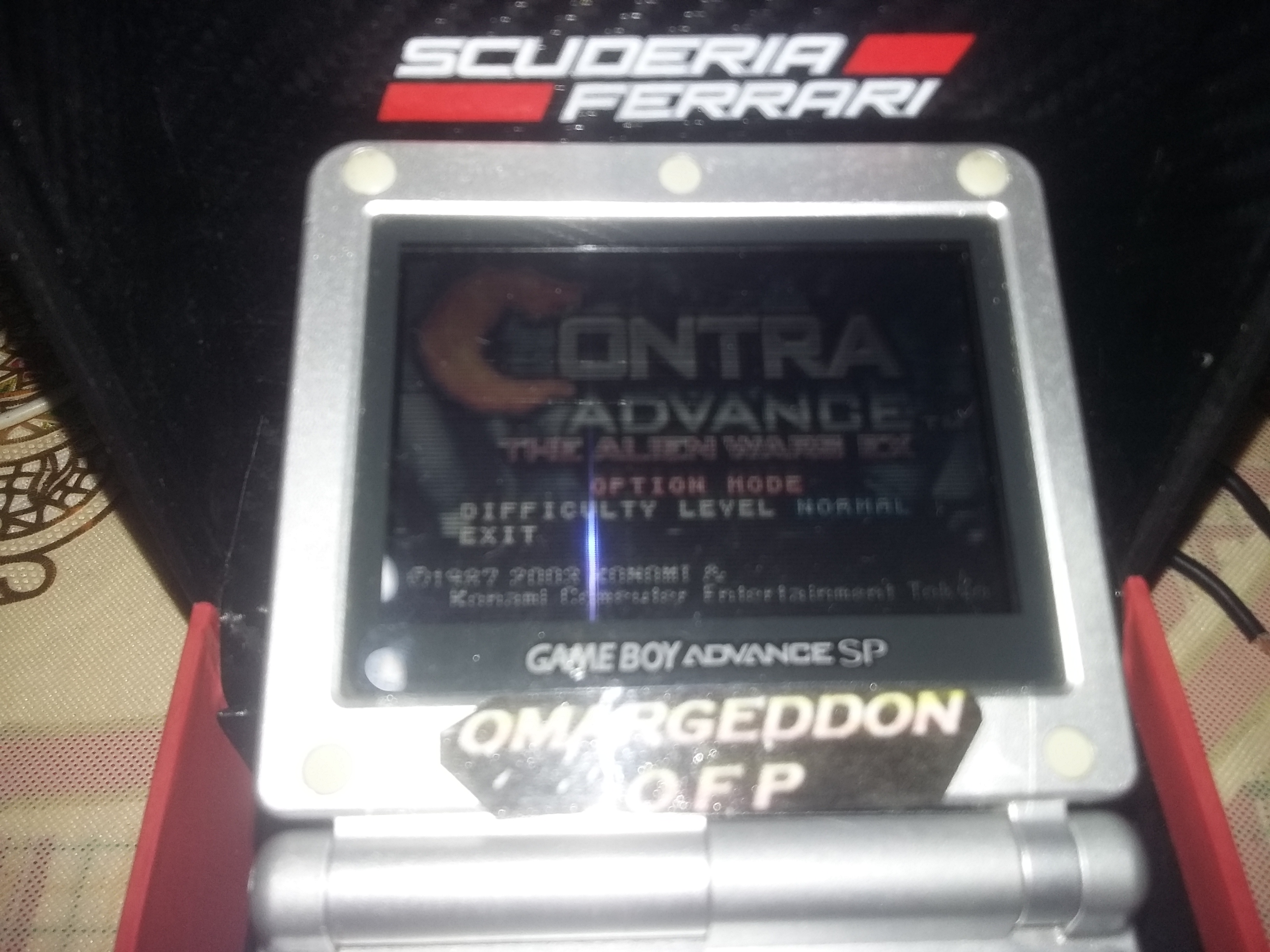 omargeddon: Contra Advance: The Alien Wars EX (GBA) 93,002 points on 2017-12-26 22:08:44
