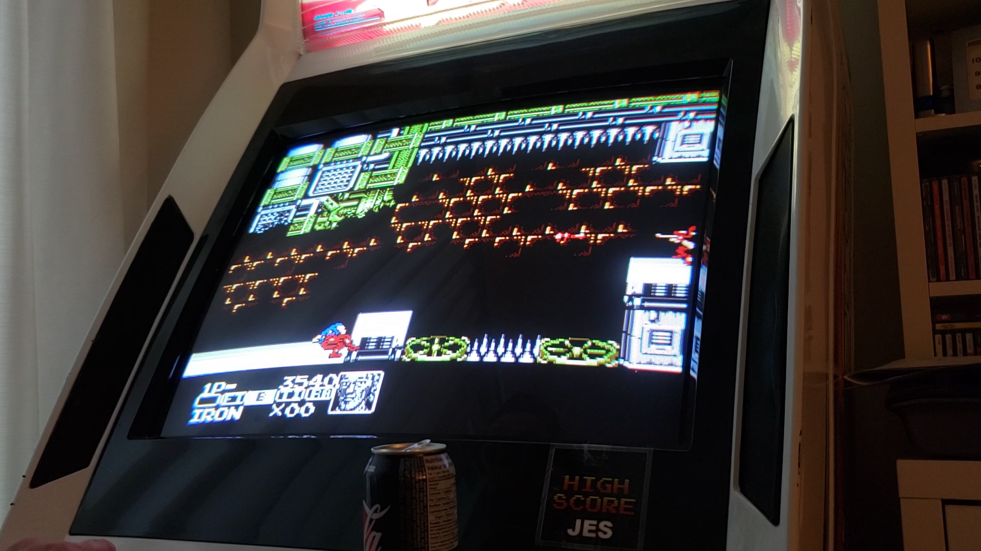 JES: Contra Force (NES/Famicom Emulated) 3,540 points on 2020-07-24 21:36:23