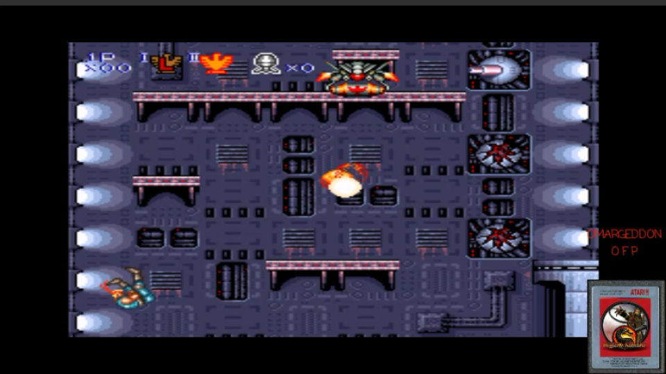 omargeddon: Contra III: The Alien Wars [Easy] (SNES/Super Famicom Emulated) 184,993 points on 2017-03-15 23:34:42