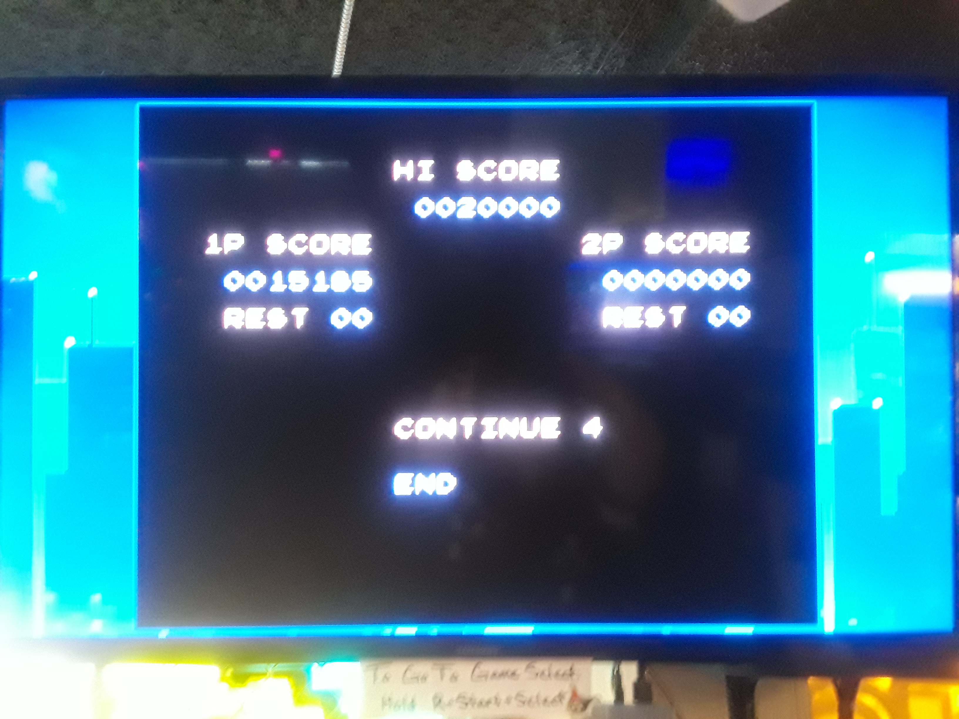 Contra III: The Alien Wars [Hard/ 07 Lives] 15,185 points
