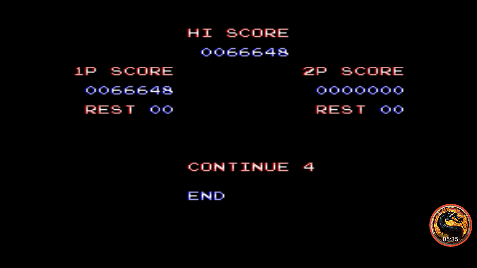 Contra III: The Alien Wars [Hard/ 07 Lives] 66,648 points