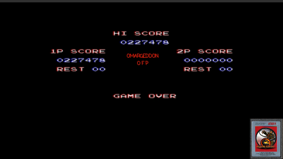 Contra III: The Alien Wars [Normal] 227,478 points