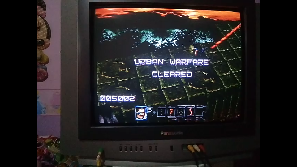 Contra: Legacy of War [Easy] 5,002 points