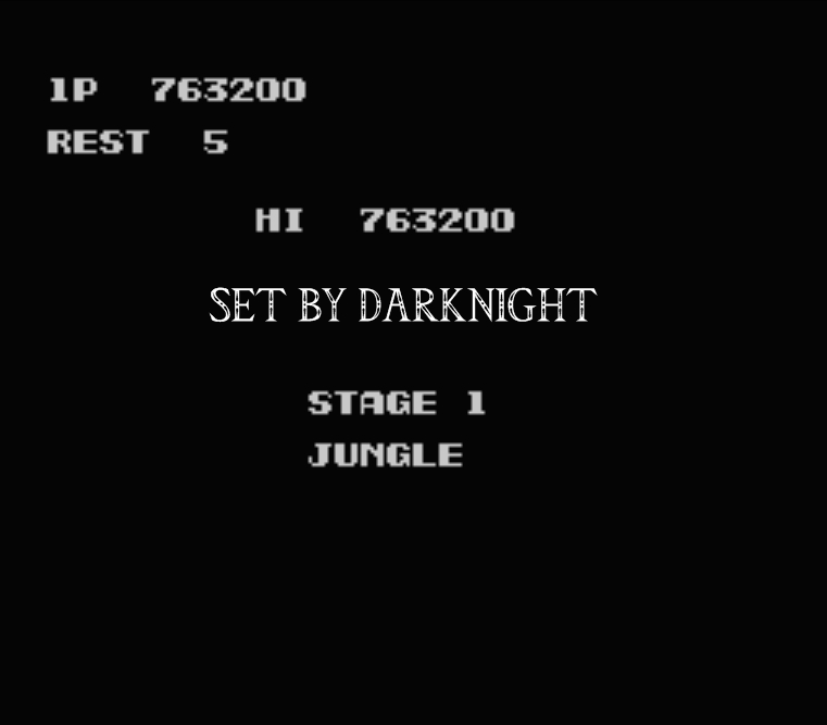 darknight: Contra (NES/Famicom Emulated) 763,200 points on 2015-07-12 22:26:54