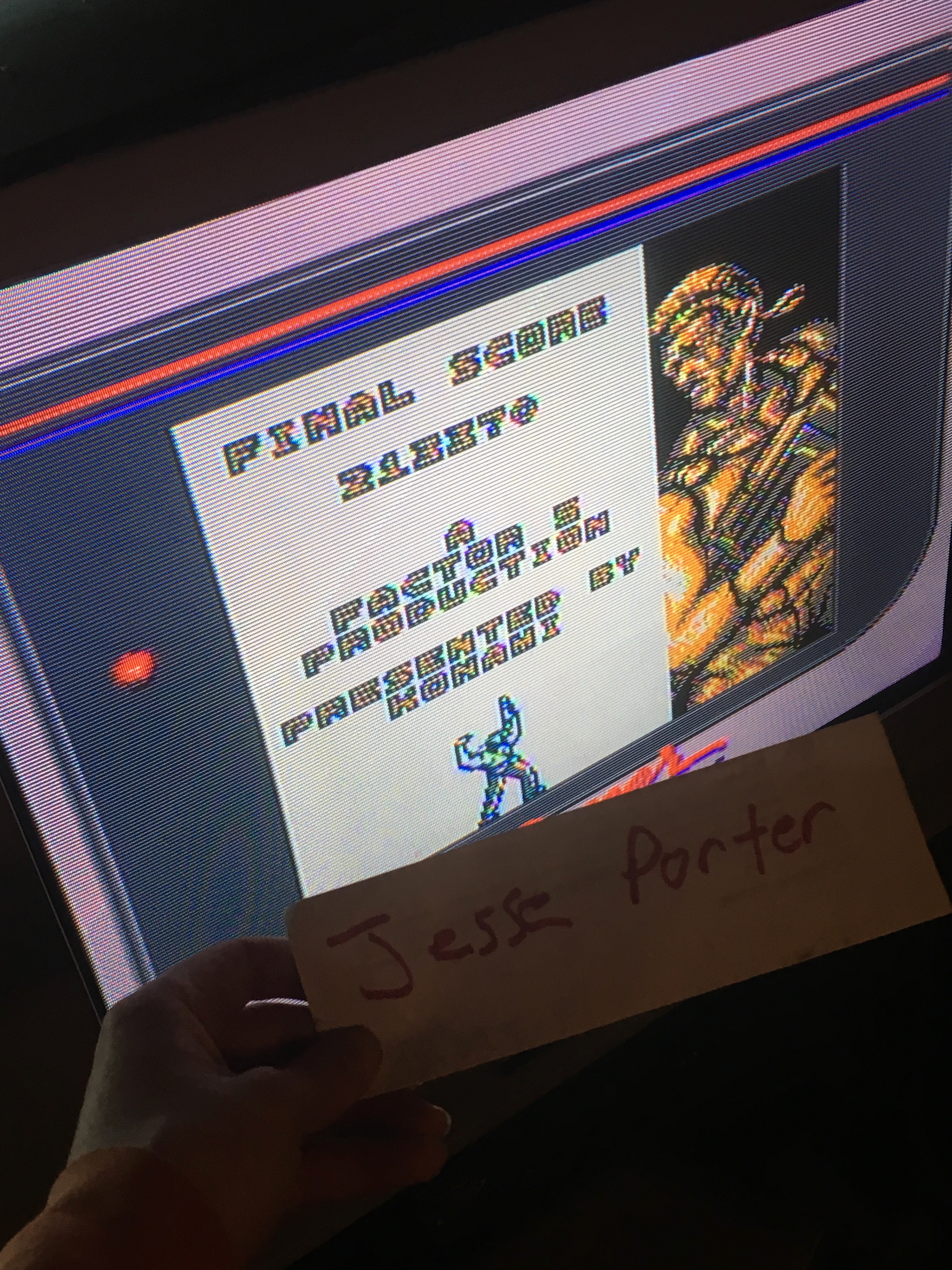 Contra: The Alien Wars 213,370 points