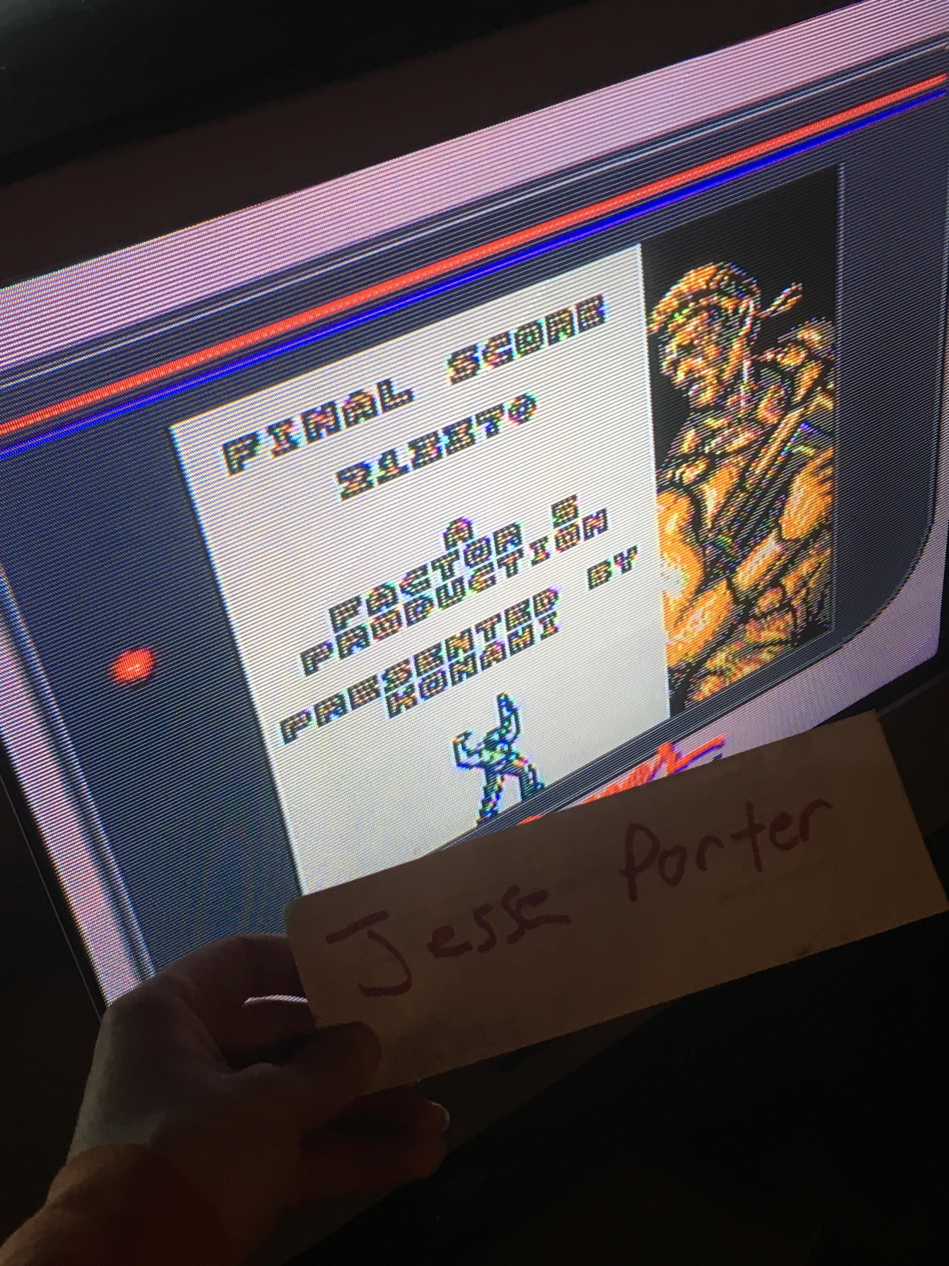 JessePorter: Contra: The Alien Wars (Game Boy) 213,370 points on 2018-01-26 17:41:36