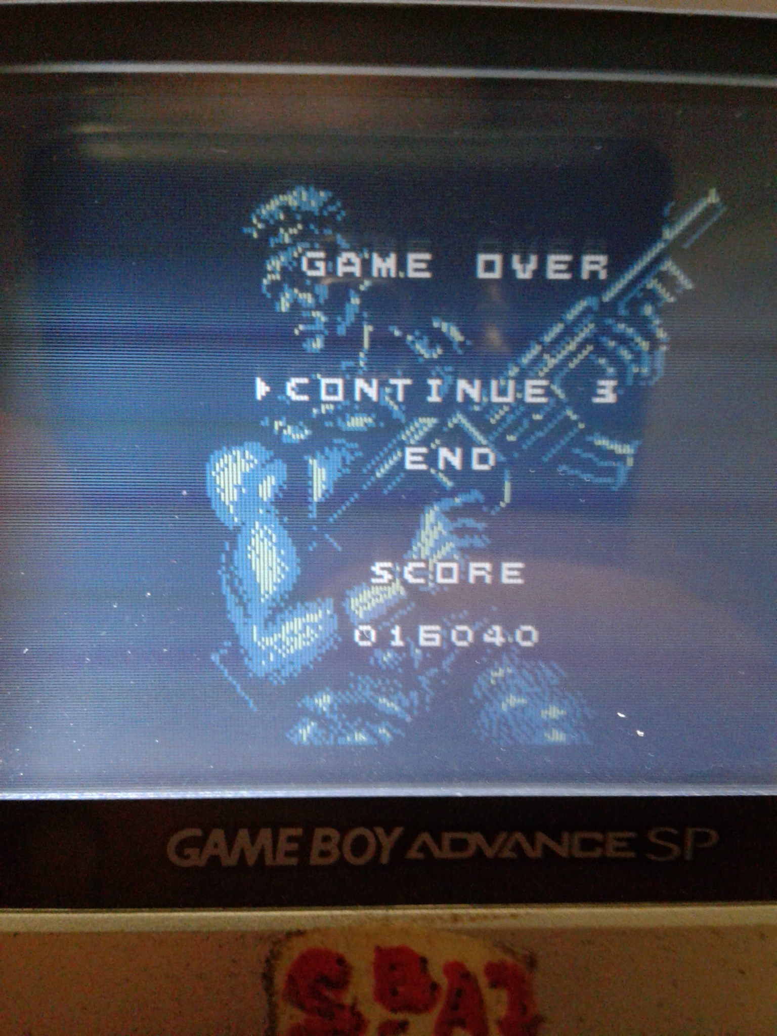 S.BAZ: Contra: The Alien Wars (Game Boy) 16,040 points on 2019-08-14 22:36:24