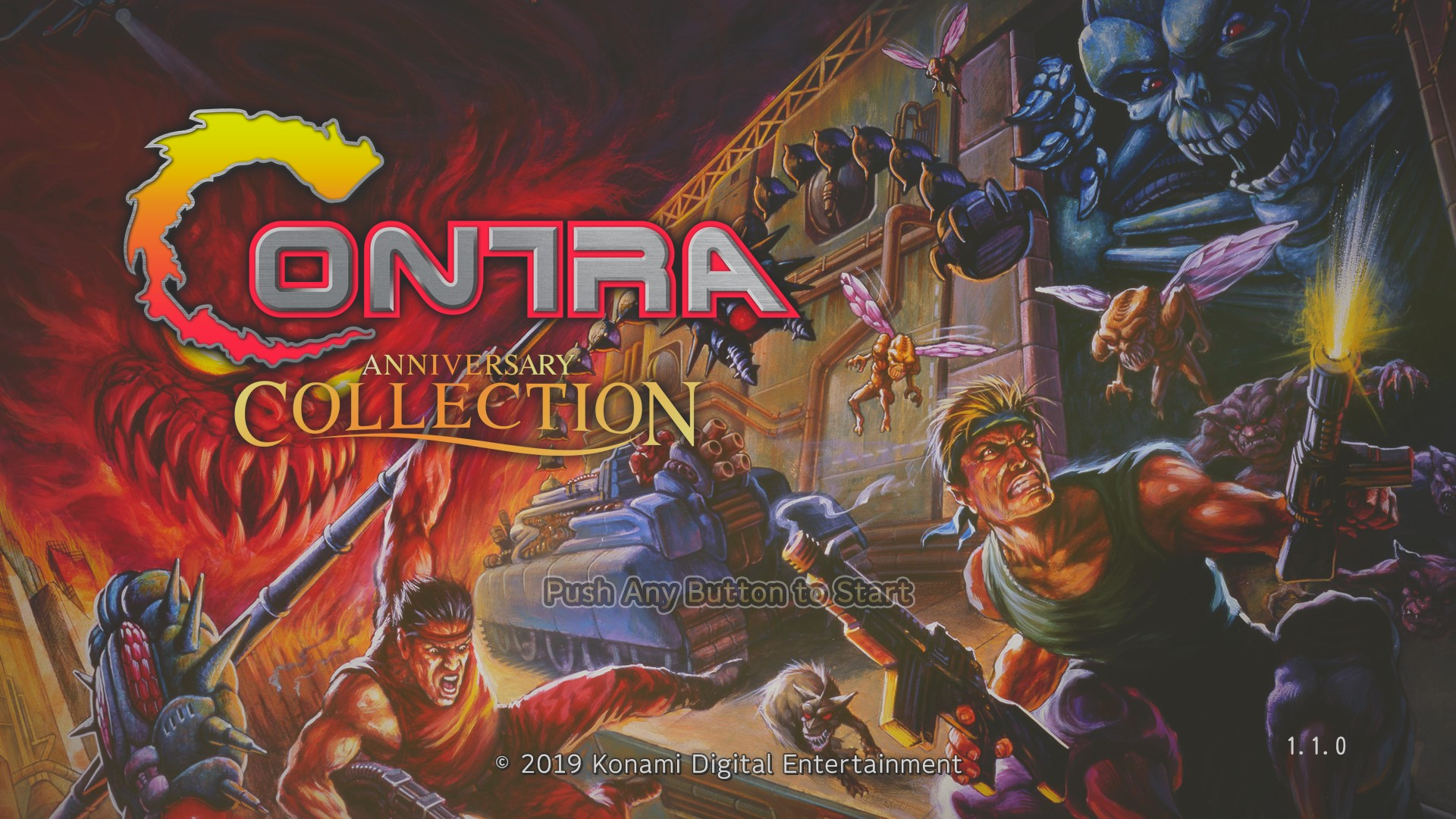 Contra [contra] 77,300 points