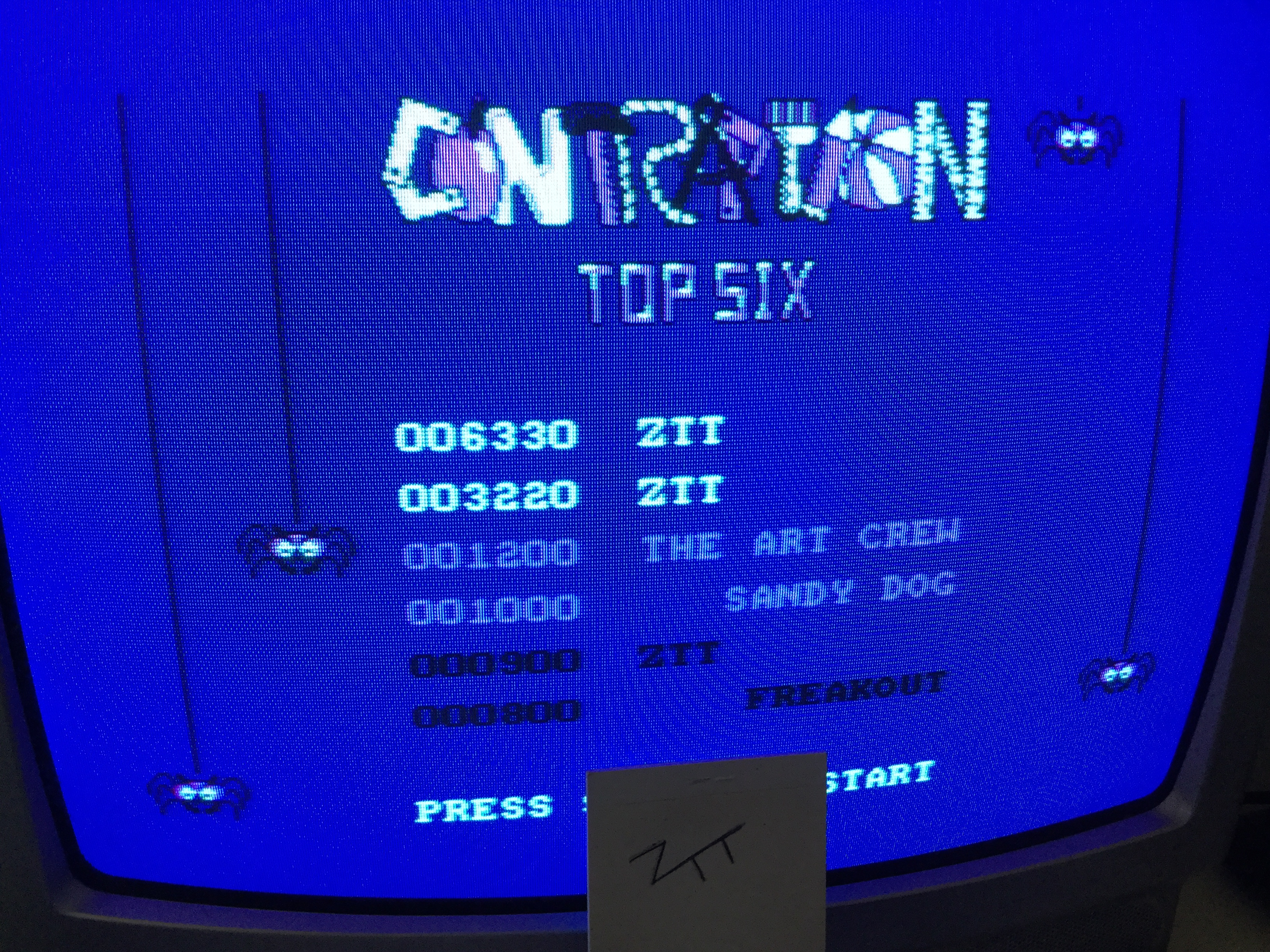 Frankie: Contraption (Amstrad CPC) 6,330 points on 2017-01-19 06:04:34