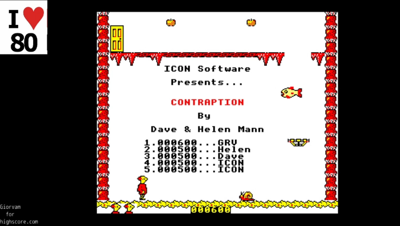 Giorvam: Contraption (BBC Micro Emulated) 600 points on 2019-12-28 04:18:57