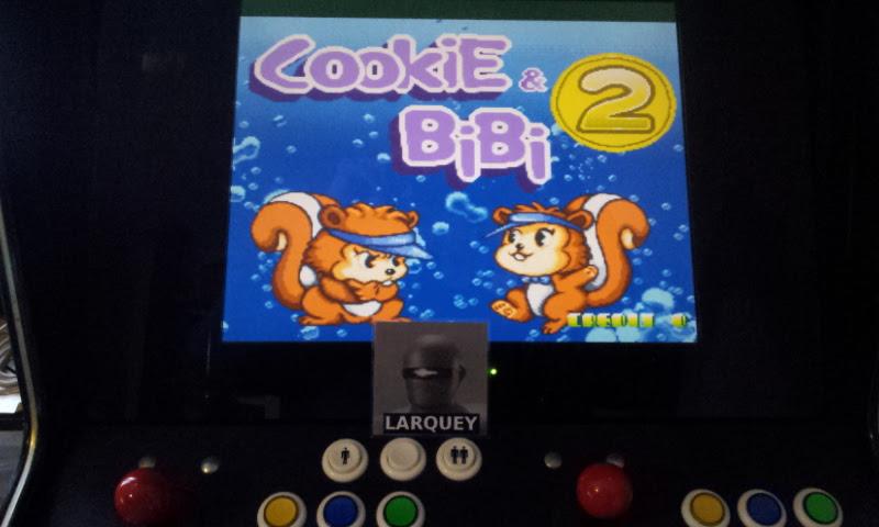 Larquey: Cookie & Bibi 2 [Puzzle] (Jamma Pandora