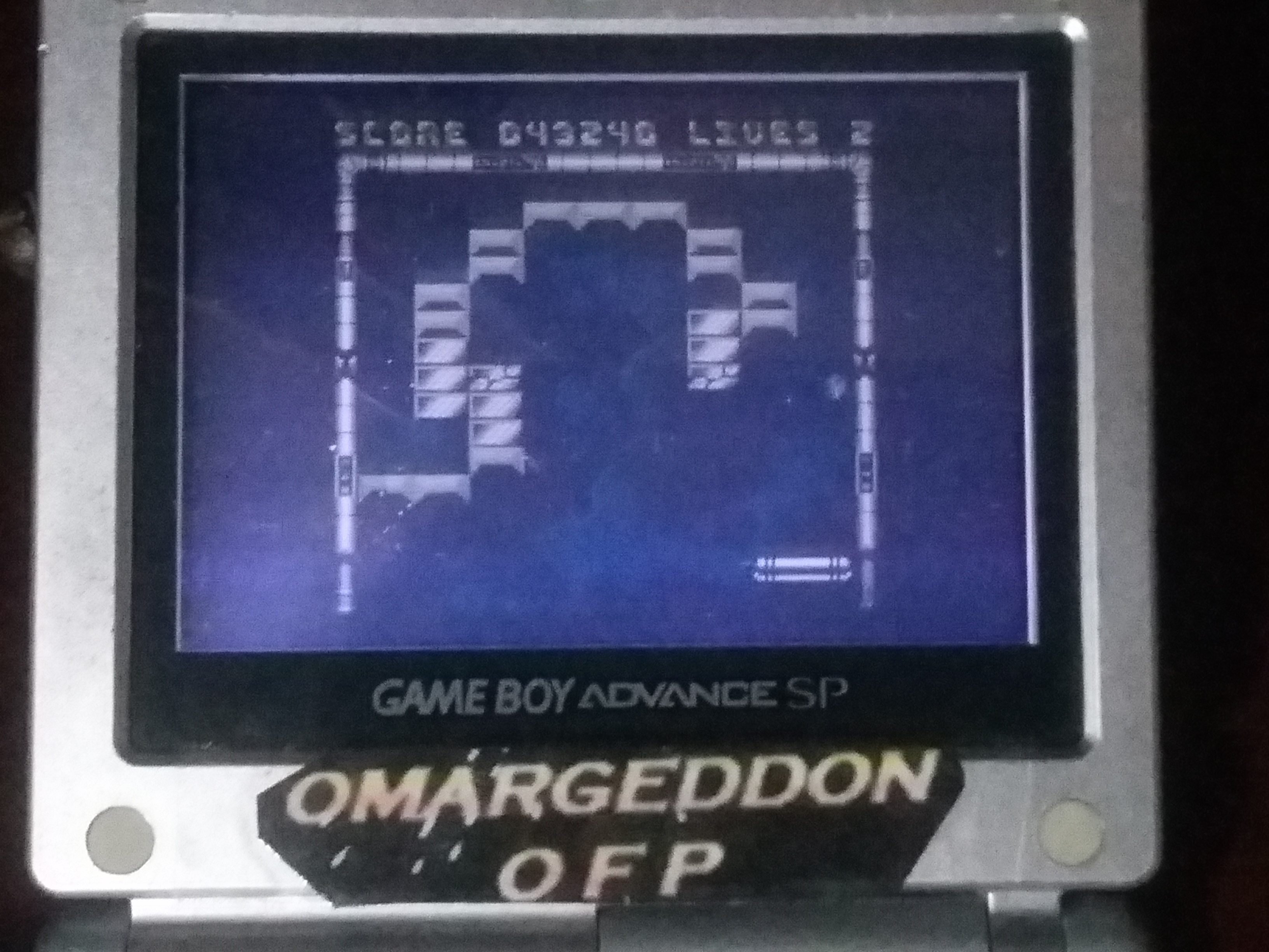 omargeddon: Cool Bricks (Game Boy Color) 43,240 points on 2018-01-28 21:58:34