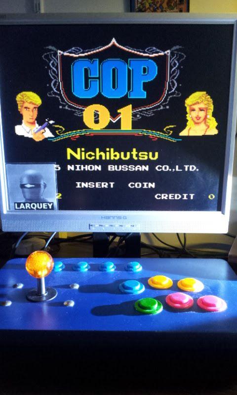 Larquey: Cop 01 [set 1] [cop01] (Arcade Emulated / M.A.M.E.) 36,600 points on 2017-09-01 11:41:41