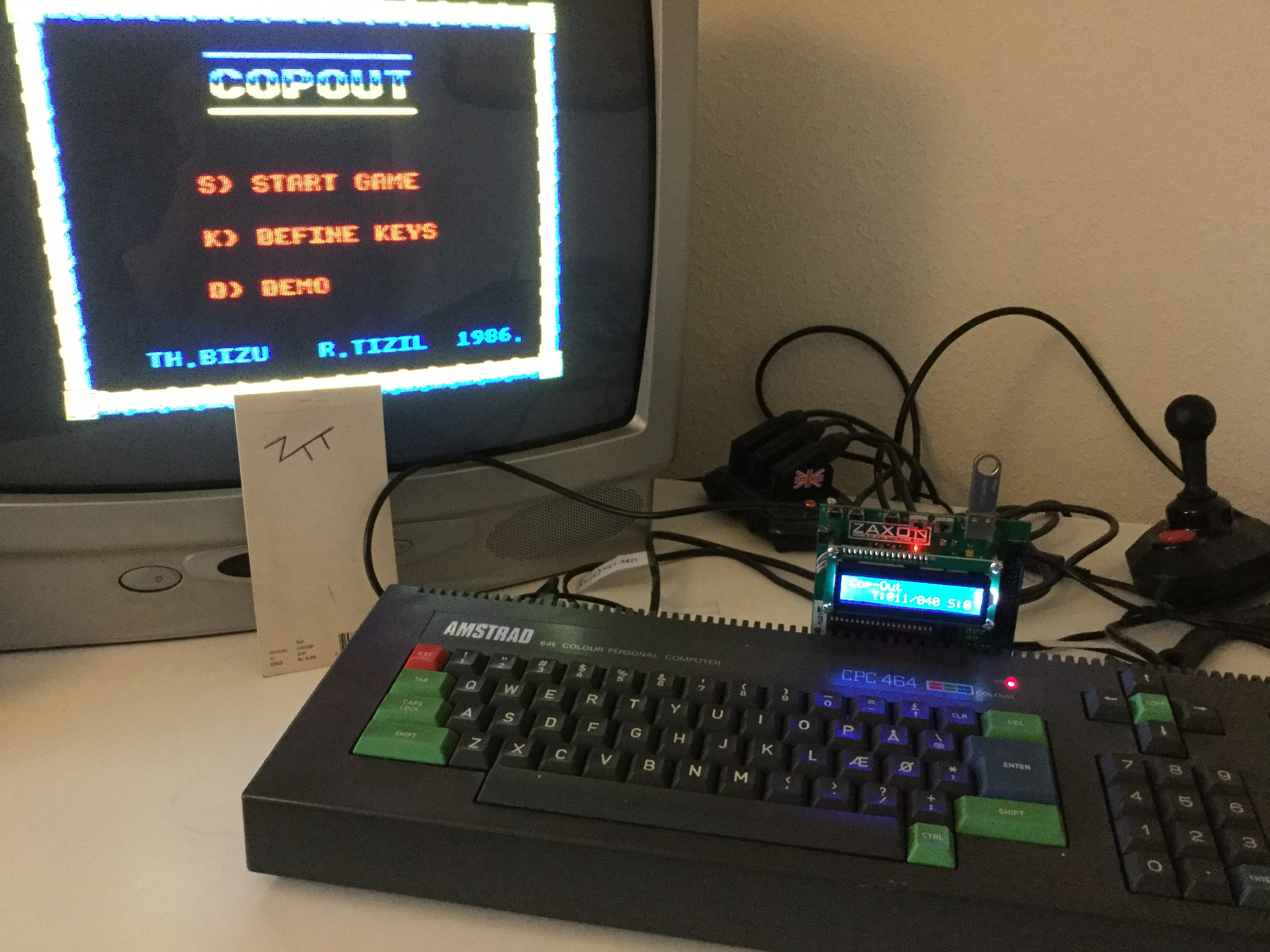 Frankie: Cop-Out (Amstrad CPC) 7,300 points on 2017-01-19 06:13:19