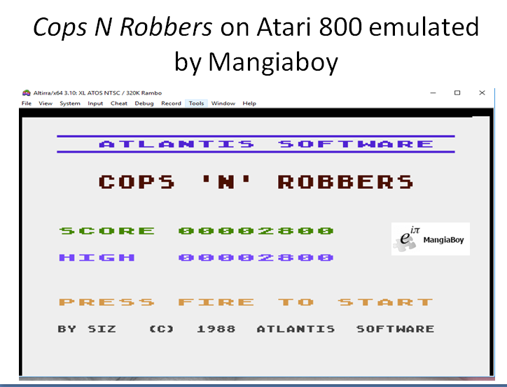 MangiaBoy: Cops
