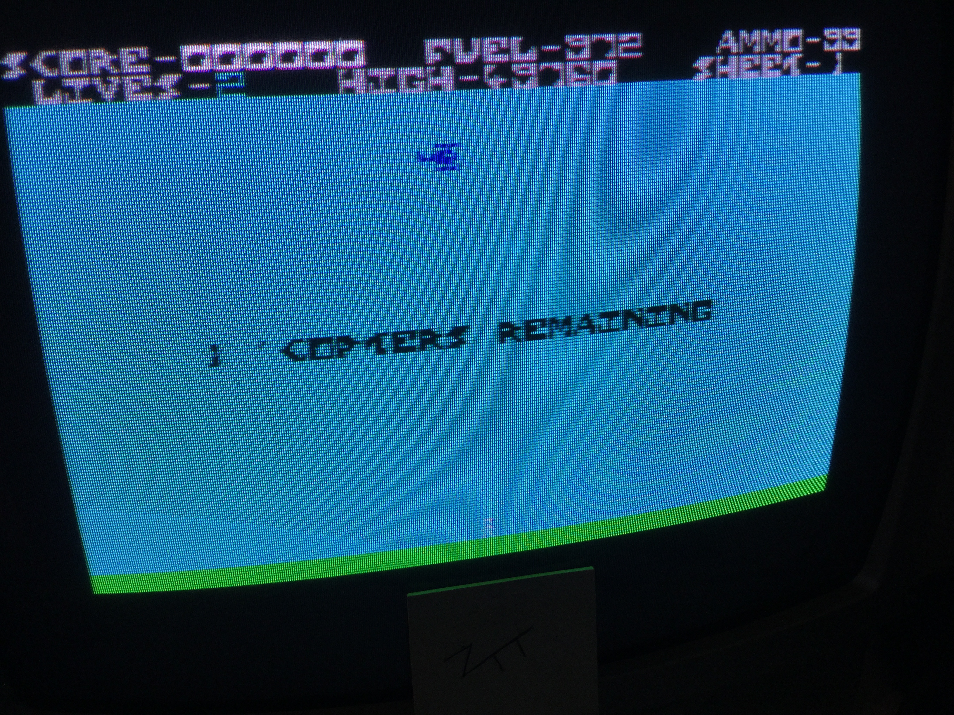 Frankie: Copter / Copta (ZX Spectrum) 49,760 points on 2019-05-08 12:41:00