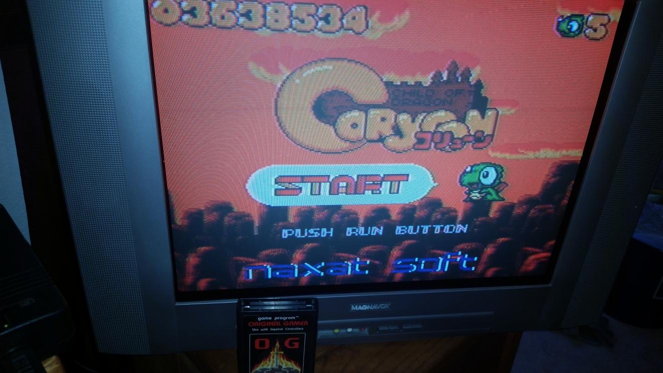 OriginalGamer: Coryoon: Child of Dragon (TurboGrafx-16/PC Engine) 3,638,534 points on 2016-04-30 15:30:29