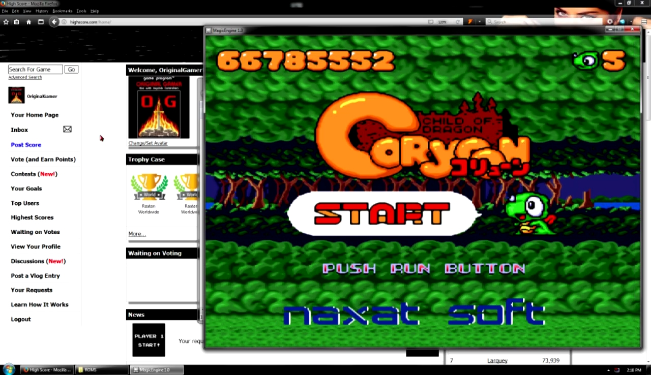 OriginalGamer: Coryoon: Child of Dragon (TurboGrafx-16/PC Engine Emulated) 66,785,552 points on 2017-10-29 23:55:22