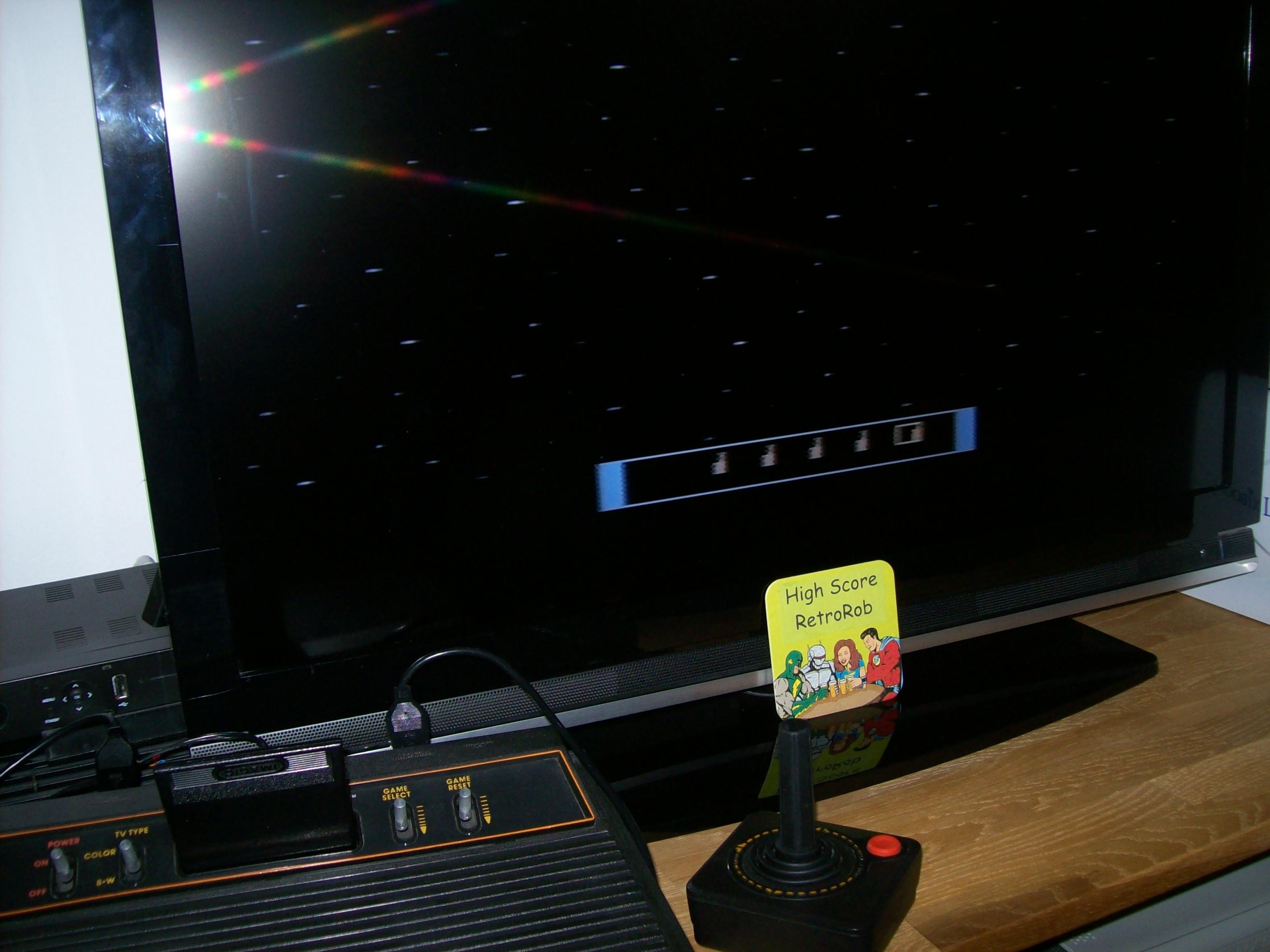 RetroRob: Cosmic Ark (Atari 2600 Novice/B) 11,110 points on 2018-02-26 10:54:20